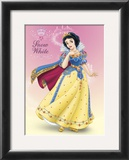 Snow White Shimmer Prints