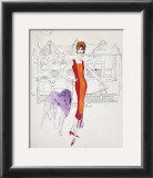 Female Fashion Figure, c.1959 Prints by Andy Warhol