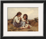 Childhood Idyll Posters by William Adolphe Bouguereau
