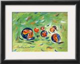 Marbles Prints by Cynthia Hudson
