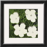 Flowers, c.1964 (White) Prints by Andy Warhol