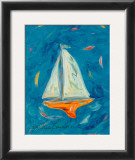 Sailboat Art by Cynthia Hudson