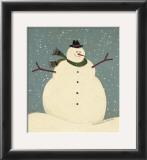 Snowman Prints by Warren Kimble