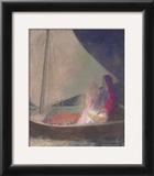 The Barque, c.1902 Art by Odilon Redon