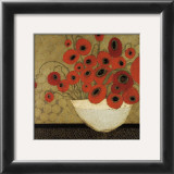 Frida's Poppies Print by Karen Tusinski