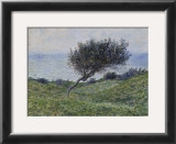 Sea Coast at Trouville Print by Claude Monet