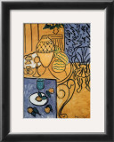 Interior in Yellow and Blue, 1946 Print by Henri Matisse
