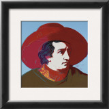 Goethe, c.1982 (Brown Shirt) Prints by Andy Warhol