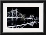 Albert Bridge at Night Art by Bill Philip