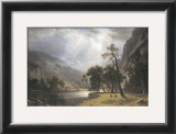 Half Dome, Yosemite Valley Prints by Albert Bierstadt