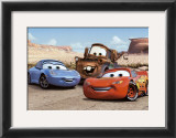 The Cast of Cars Prints