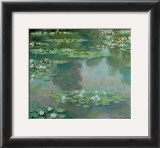 Waterlilies I 1905 Posters by Claude Monet