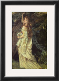 Ophelia and He Will Not Come Again, 1863-64 Prints by Arthur Hughes