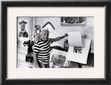 Pablo Picasso, Villa Californie, France Print by Rene Burri