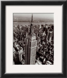 Empire State Building Art by Christopher Bliss