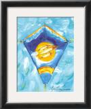Kite Posters by Cynthia Hudson