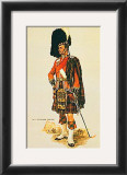 The Queen's Own Cameron Highlanders Print by A. E. Haswell Miller