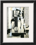 Still Life with Guitar Print by Juan Gris