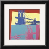 Brooklyn Bridge, 1983 Art by Andy Warhol