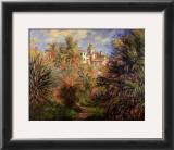 Gardens at Bordighera, 1884 Art by Claude Monet