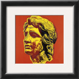 Alexander the Great, c.1982 (yellow face) Prints by Andy Warhol