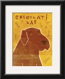 Chocolate Lab Posters by John Golden