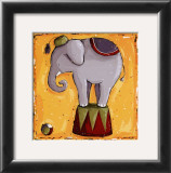 Elephant Print by Wilma Sanchez