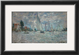 The Sailboats - Boat Race at Argenteuil, c. c.1874 Prints by Claude Monet