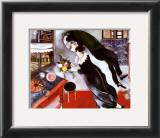 El cumpleaños Reproducción por Marc Chagall