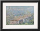 Gardener's House at Antibes, c.1888 Art by Claude Monet