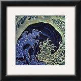 Feminine Wave (detail) Prints by Katsushika Hokusai