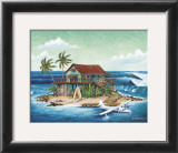 Way Outer Reef Print by Rick Romano