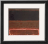 Four Darks in Red, 1958 Prints by Mark Rothko