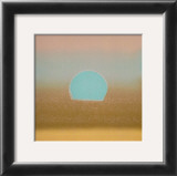 Sunset, c.1972 40/40 (gold, blue) Art by Andy Warhol