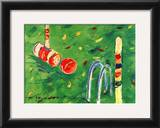 Croquet Prints by Cynthia Hudson