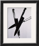 Knives, c.1981-82 (three black on cream) Art by Andy Warhol