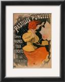 Pastilles Poncelet Print by Jules Chéret