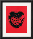 Heart, c.1984 Prints by Andy Warhol