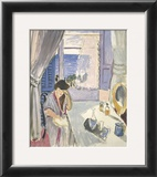 Woman Reading at a Dressing Table, Late 1919 Print by Henri Matisse