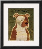 Pit Bull Posters by John Golden