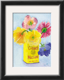 Flowers in a Yellow Can Prints by Robbin Gourley