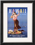 Hawaii by Clipper Posters