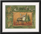Caribou Prints by Anita Phillips