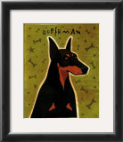 Doberman Poster by John Golden