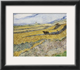 Enclosed Field with Ploughman Prints by Vincent van Gogh