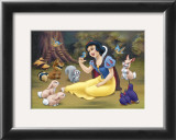 Snow White's Forest Friends Print