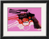 Gun, c.1981-82 Prints by Andy Warhol