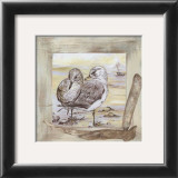 Mouettes Prints by  Clauva
