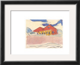 House on the Beach, c.1910 Prints by Max Pechstein