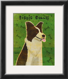 Border Collie Prints by John Golden